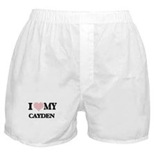 I Love my Cayden (Heart Made from Lov Boxer Shorts