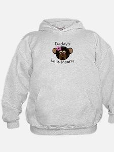 Daddy's GIRL Little Monkey Hoodie