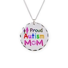 Proud Autism Mom Necklace