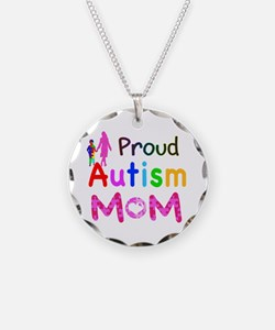 Proud Autism Mom Necklace