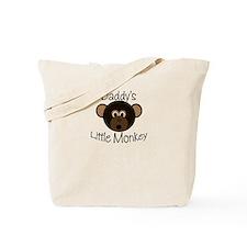 Daddy's BOY Little Monkey Tote Bag