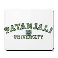 Green/Blue Patanjali University Mousepad
