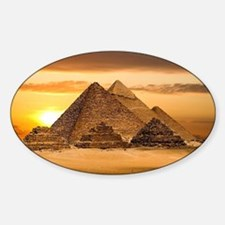 Egyptian pyramids Decal