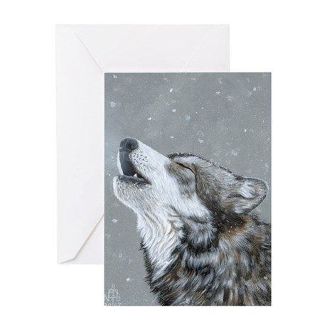 Snow Song: Greeting Card