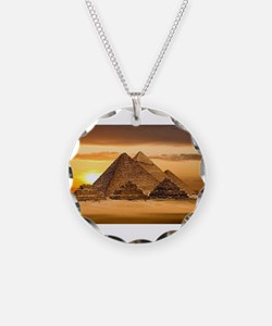 Egyptian pyramids Necklace