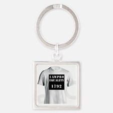 Cute Extra large Square Keychain