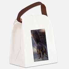 Squirrelin' Around Canvas Lunch Bag