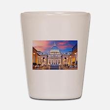 Vatican Rome Italy Shot Glass