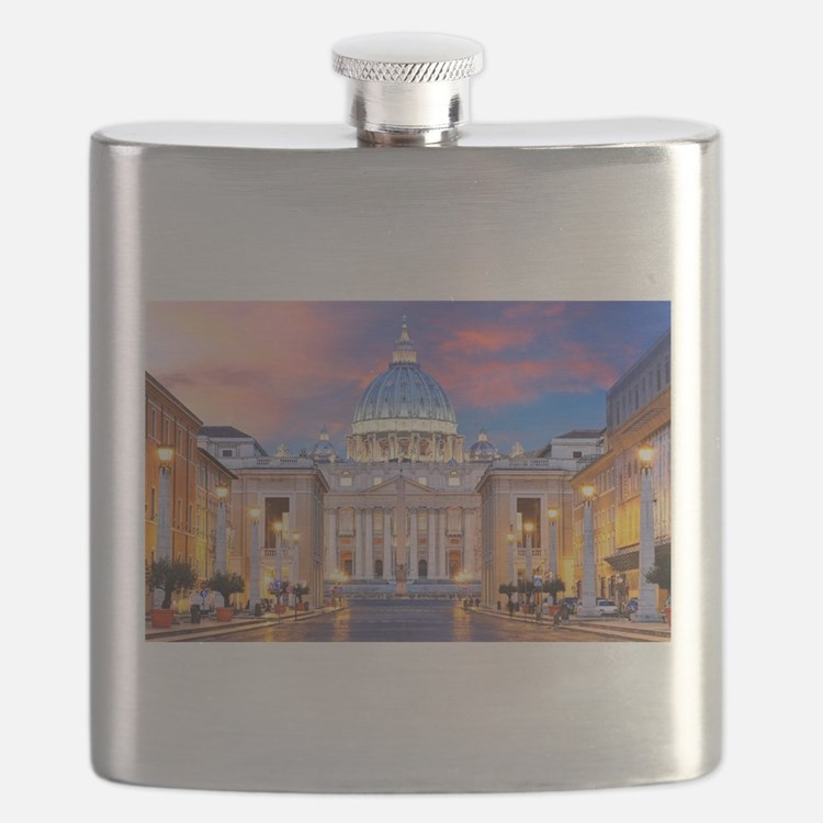 Vatican Rome Italy Flask