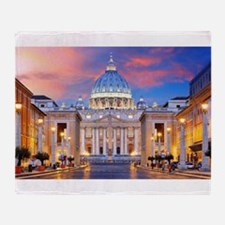 Vatican Rome Italy Throw Blanket