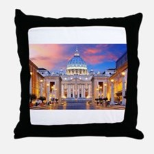 Vatican Rome Italy Throw Pillow