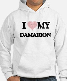 I Love my Damarion (Heart Made f Hoodie