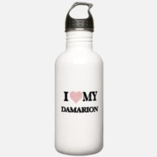 I Love my Damarion (He Water Bottle