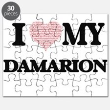 I Love my Damarion (Heart Made from Love my Puzzle