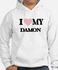 I Love my Damon (Heart Made from Hoodie