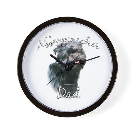 Affenpinscher Dad2 Wall Clock