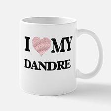 I Love my Dandre (Heart Made from Love my wor Mugs