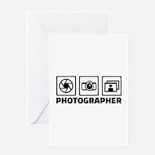 Photographer Greeting Card