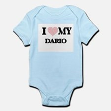 I Love my Dario (Heart Made from Love my Body Suit