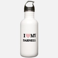 I Love my Darnell (Hea Water Bottle