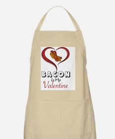 Cute Bacon valentine Apron