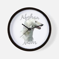 Afghan Mom2 Wall Clock