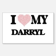 I Love my Darryl (Heart Made from Love my Decal