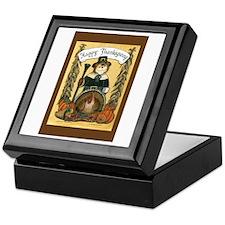 Thanksgiving Pilgrim, Male Keepsake Box