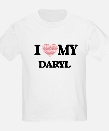 I Love my Daryl (Heart Made from Love my w T-Shirt