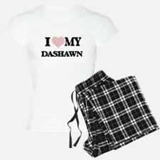 I Love my Dashawn (Heart Ma Pajamas