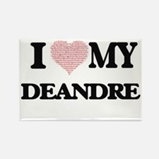 I Love my Deandre (Heart Made from Love my Magnets