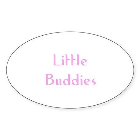 Little Buddies Oval Sticker