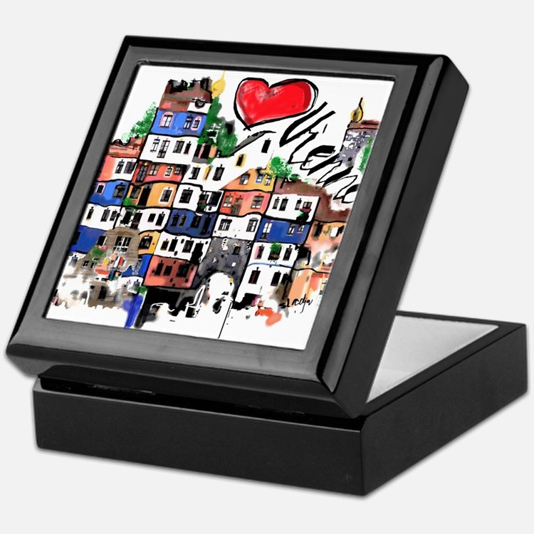 I love Vienna Keepsake Box