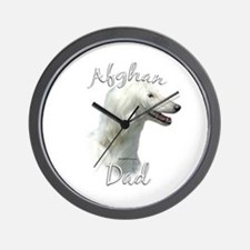 Afghan Dad2 Wall Clock