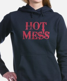 HOT MESS Women's Hooded Sweatshirt