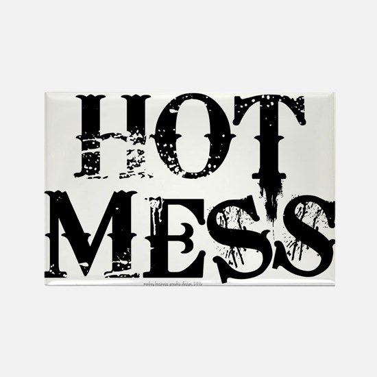 HOT MESS Magnets