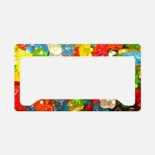 Cute Snack License Plate Holder