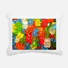 Cute Snacks Rectangular Canvas Pillow