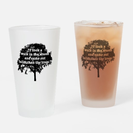Cute Thoreau Drinking Glass