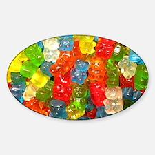 Gummy Bear Candies Decal