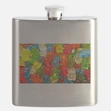 Gummy Bear Candies Flask