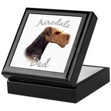 Airedale Dad2 Keepsake Box