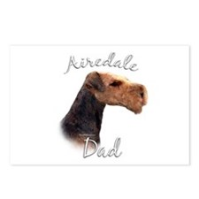 Airedale Dad2 Postcards (Package of 8)
