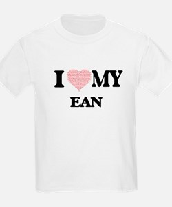 I Love my Ean (Heart Made from Love my wor T-Shirt