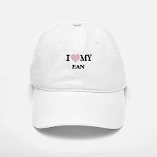 I Love my Ean (Heart Made from Love my words) Baseball Baseball Cap