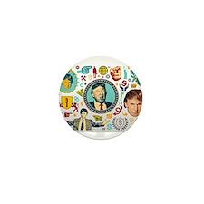 funny donald trump Mini Button