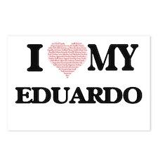 I Love my Eduardo (Heart Postcards (Package of 8)