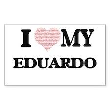 I Love my Eduardo (Heart Made from Love my Decal
