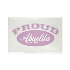 Proud Abuelita Rectangle Magnet