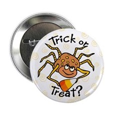 "Candy Corn Spider 2.25"" Button (10 pack)"